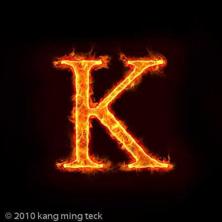 5976843011 43d41aeac0 jpgLetter K Fire