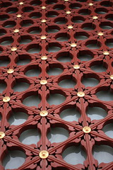 Wooden Pattern and details in forbidden city, Beijing by Engineer J