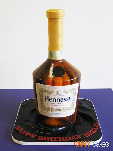 Hennessy Bottle Cake Cmny Cakes Flickr