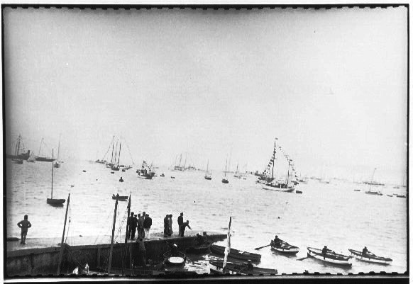Vessels at Cowes, England