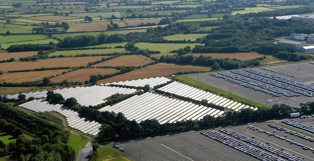 Toyota Solar Panel Array Flickr Photo Sharing