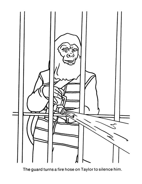 Planet of the Apes Coloring Book 0100046