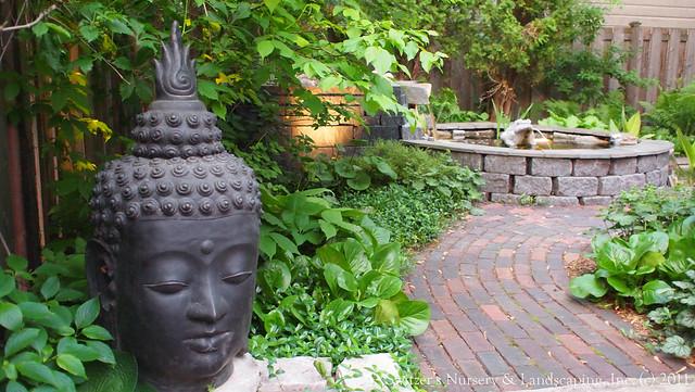 Minnesota landscape design inspired by bali natural ston for Balinese garden design