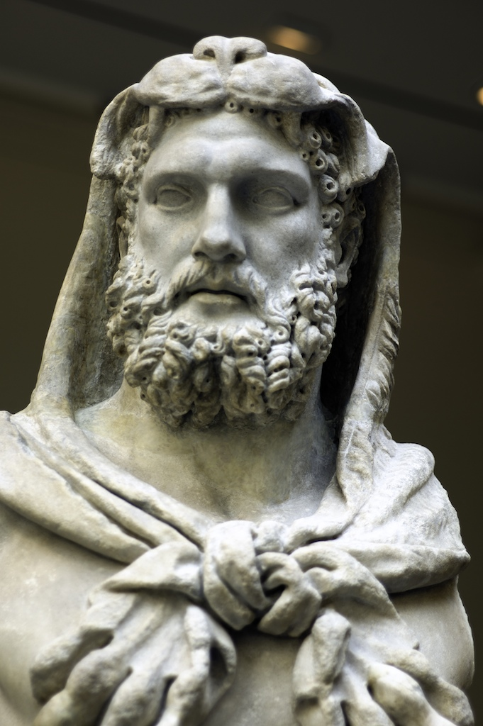 Marble Statue Of A Bearded Hercules Ad 68 98 Source