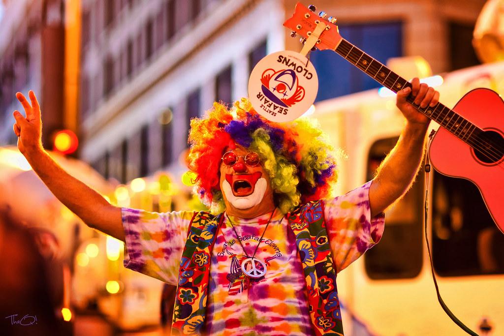 Seattle Seafair Clown