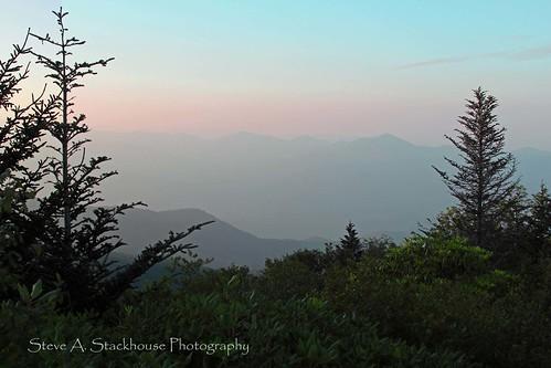 mountains sunrise vistas smokies blueridgeparkway