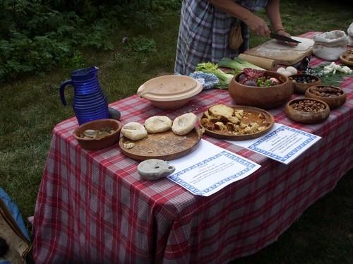 Roman foodtable