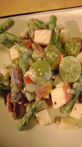 Green Bean Waldorf Salad