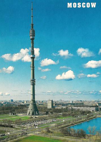 Moskva (RU) Ostankino Tower