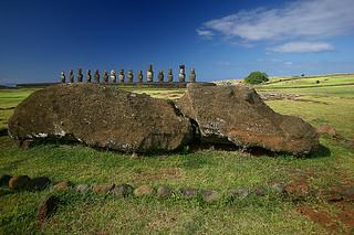 15 Moai of Ahu Tongariki