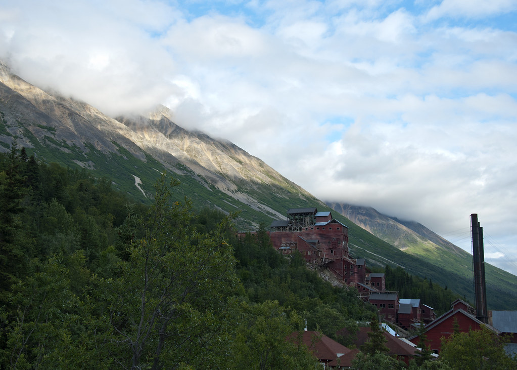 Kennecott Mill Town and Porphyry Mountain