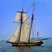 """Pride of Baltimore II""  (1800s-era tall ship)  Ludington ,  Michigan"