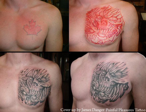 Cover-Up Maple Leaf to Scull