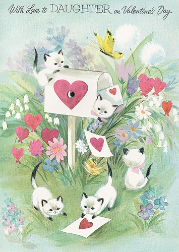 Kitty - Valentine's Day Card