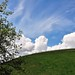 A Hillside View to the Clouds