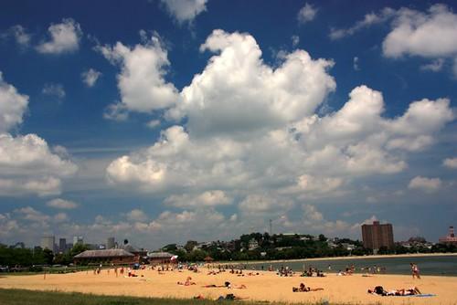 Carson Beach area, July 4th, 2011, South Boston, MA