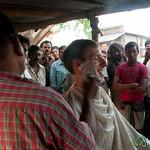 Street Side Shave - Hatiandha, Bangladesh