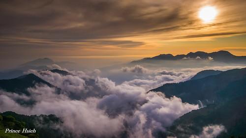 sunset clouds taiwan 日落 合歡山 雲海 hehuanmountain sonya850 sony2470za