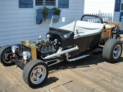 Hot Rod on the Pier