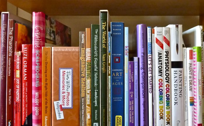 On my bookshelf | One of my bookshelves  Which books are on