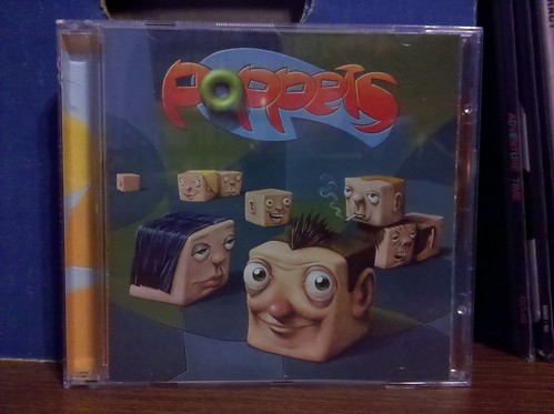Poppets - Window Seat CD