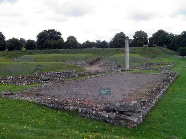 The Roman Theatre at Verulamium, St Albans