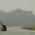 Boat on Shangu River - Bandarban, Bangladesh