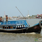 Boats as River Transport - Sundarbans to Khulna, Bangladesh