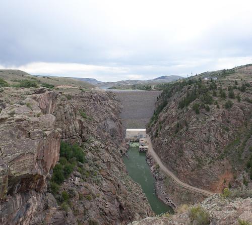 usa river colorado unitedstates dam canyon reservoir bluemesa 2011 bluemesareservoir gunnisonriver bluemesadam earthendam
