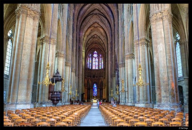 Reims Cathedral Interior 1 | Flickr - Photo Sharing!
