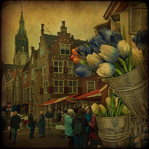 holland netherlands streetscene delft textures fleamarket hdr magicunicornverybest magicunicornmasterpiece —obramaestra— truthandillusion