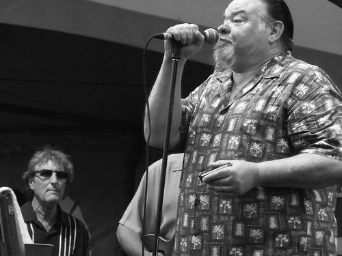James Harman and Monkeyjunk at Ottawa Bluesfest 2011