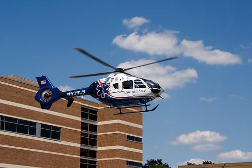 helicopter guthrie helipad heliport lifeflight guthrieair