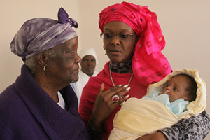 Zimbabwe First Lady Amai Grace Mugabe has reportedly adopted 15 children into her care. The wife of President Robert Mugabe has been featured in this regard in the national state newspaper. by Pan-African News Wire File Photos