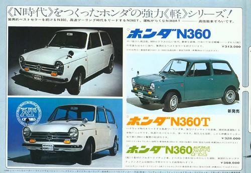 1972 Honda N360 Brochure - Japan