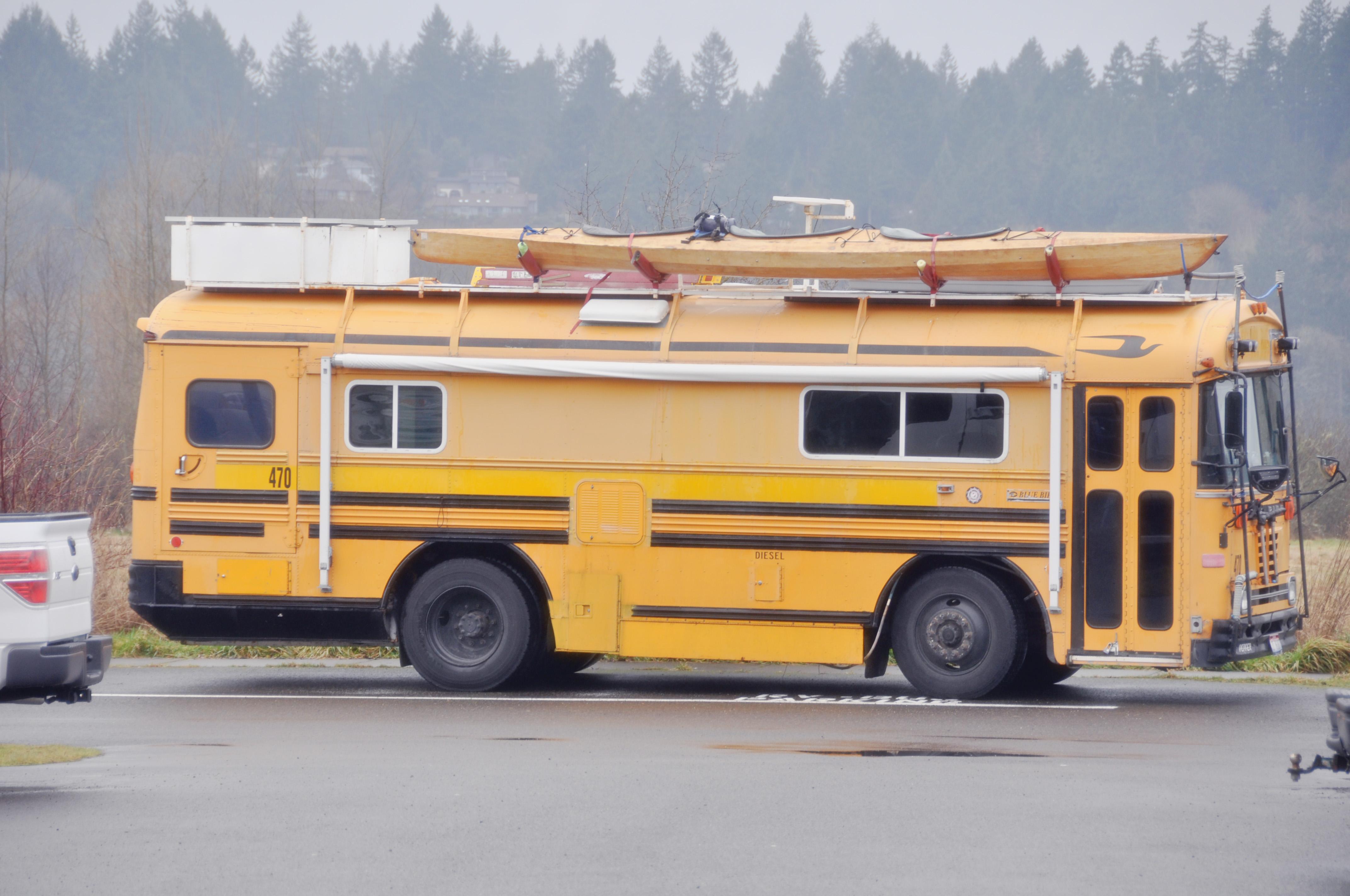 Custom School Bus Rv The Image Kid Has It