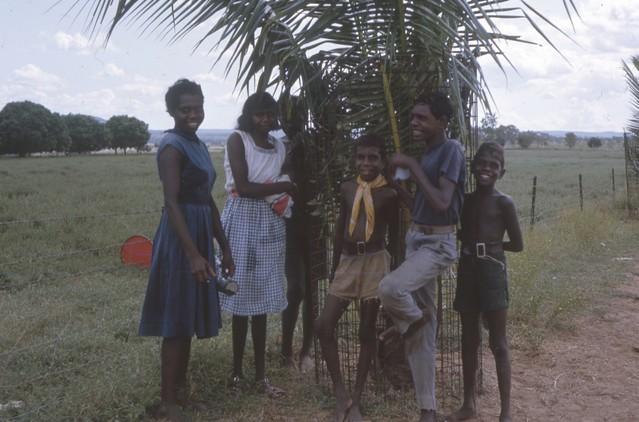 1963-ca - Aboriginal kids at Kalumburu Mission - KHS-2011-31-167-0.01-P2-D