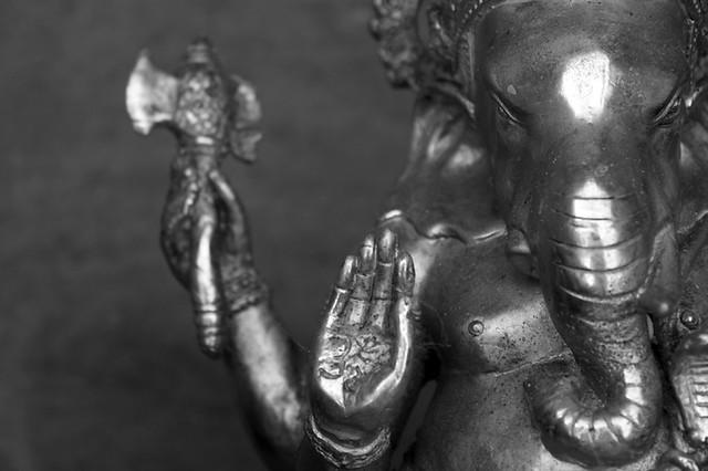 Ganesha curses the moon