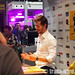 Ryan Kwanten (AKA Jason Stackhouse) signs posters for Griff the Invisible