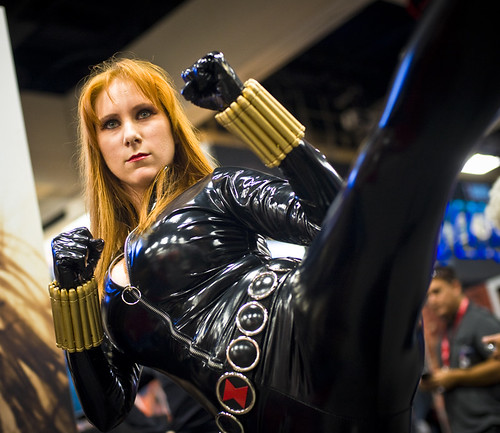 Comic-Con 2011 – Black Widow