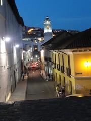Vista ala iglesia de la Merced Quito-Ecuador