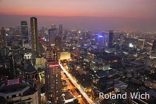 Bangkok - View from Moon Bar
