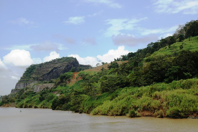 Panama Canal landscape
