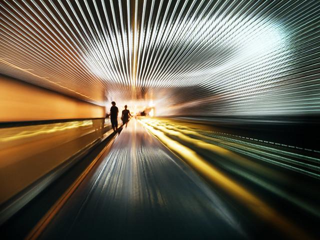 La luz en el túnel II · National Gallery · Washington DC [EXPLORE]
