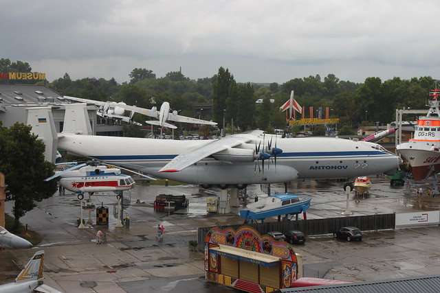 Seitenansicht: Antonow An-22 Antei
