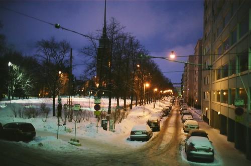 A warm winter evening