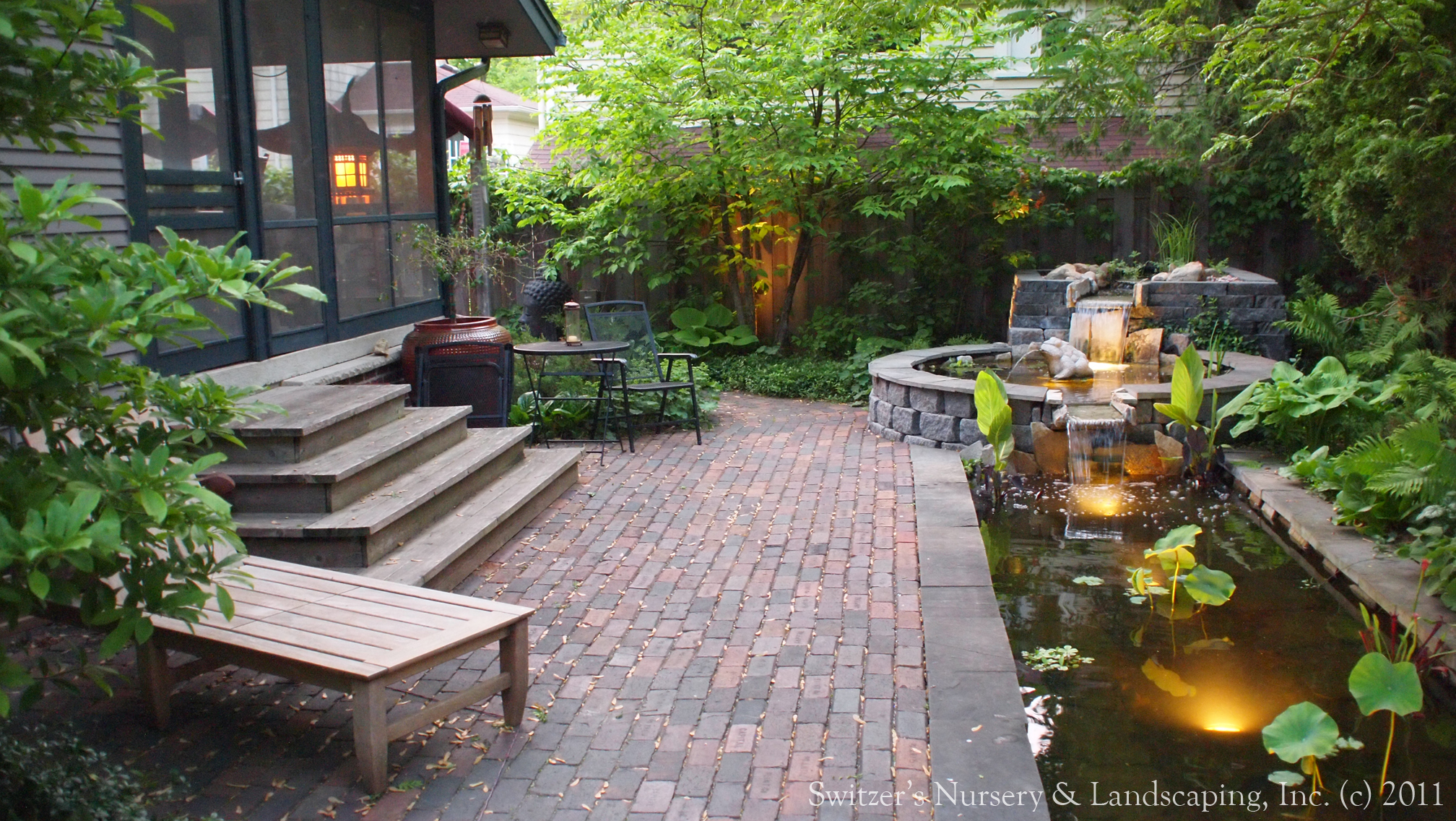 Minnesota landscape design inspired by bali natural for Koi pond garden design