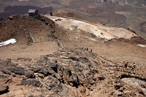 Subir al pico del Teide