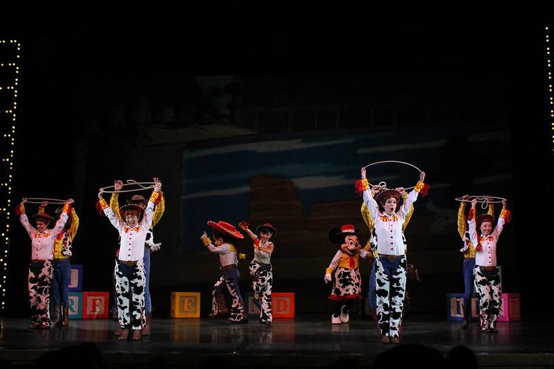 The Golden Mickeys at the Storybook Theatre at Hong Kong Disneyland