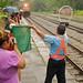 KTMB Train No. 27, Senandung Timuran 30th June: Locomotive 25202 (Delima) Pulls into the Station